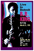 BB King - Detroit -1975