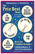 Pete Best Band poster -Threadgill's Austin TX 2007