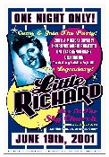 Little Richard at EMP - Seattle 2001 poster/handbill