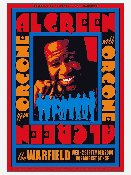 Al Green / Orgone 2009 poster - screenprint