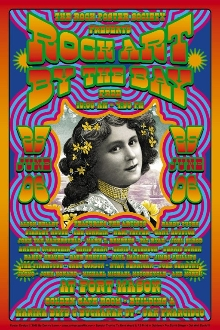 Rock Art By The Bay 2006 poster / handbill set signed