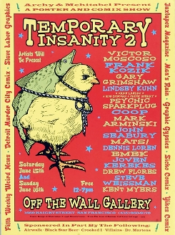 Art show - Temporary Insanty 2 - 1996