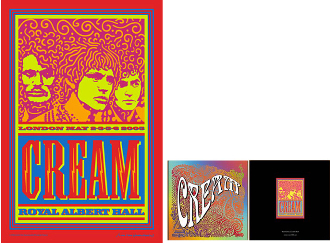 Cream * Royal Albert Hall second edition poster / program
