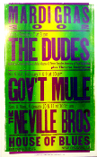 Gov't Mule Neville Bros House Of Blues New Orleans 2002 Hatch