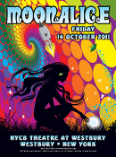 Moonalice #M422 * Westbury NY 2011 * sold out