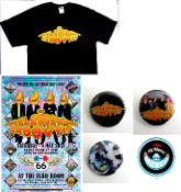 The Flamin' Groovies * 5/4/2013 - Poster - T-Shirt - buttons