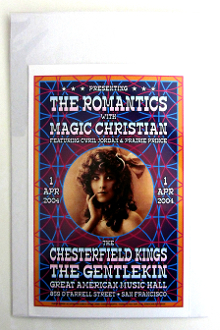 Romantics - Mini - Great Am. Music Hall / SF - 4/1/2004