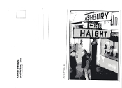 Haight Ashbury street sign postcard - 1967 photo by Gene Anthony