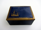 1939 GGIE box * blue and gold top - Di Maggio's / SF bottom