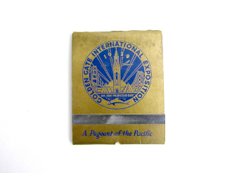 1939 GGIE over sized match book - 3x4 inches -