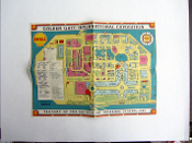 1939 GGIE Shell Oil Co map - 4 fold