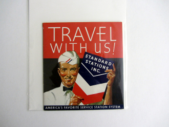 1939 GGIE Standard Oil - Travel With Us booklet