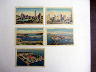 1939 GGIE postcards (5) Mint - in sleeves