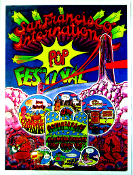 SF International POP Festival - 18x24 Art Print