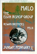 (14)Malo / Elvin Bishop Group * Thomas Morris Art Print