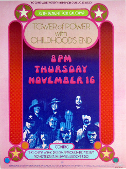 Tower Of Power - Big Game Week 1973 - Thomas Morris Art Print