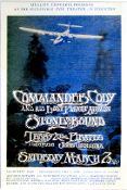 Commander Cody - Fox Theater, Stockton 1970 * Art Print