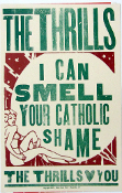 The Thrills,poster,- Catholic Shame,2005,Hatch Show Print