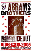 The Abrams Bros,poster,Grand ole Opry,debut,2005,Hatch