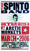Spinto Band,Arctic Monkeys,poster,2006,Hatch Show Print