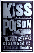 Kiss,Poison,poster,Starwood,2004,Hastch Show Print
