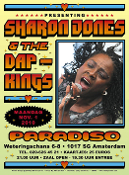 Sharon Jones & The Dap-Kings Paradiso Amsterdam 2010