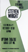 Steven Wright,Uptown Theatre-Kansas City MO,2003,Hatch
