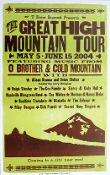 The Great High MT Tour 2004, Hatch Show Print - sold