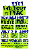 Fab Four at TPAC,The Nashville Connection 2005,Hatch Show Print