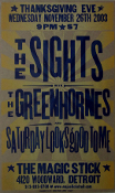 Sights Greenhornes The Magic Stick 2003 Hatch Show Print