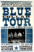 Blue Collar Tour 2006 Gaylord Ent Center Hatch Show Print