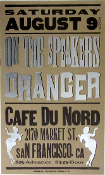 On The Speakers Oranger Cafe Du Nord Hatch show Print