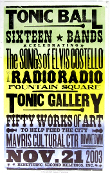 Tonic Ball songs of Elvis Costello 2003 Hatch Show Print
