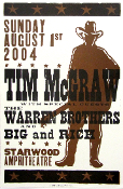 Tim McGraw Big and Rich Starwood 2004 Hatch show Print