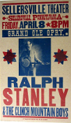 Ralph Stanley Sellersville Theater 2005 Hatch Show Print