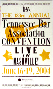 Tenn Bar Assoc Convention 2004 Live In Nashville Hatch Show Prin