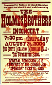 The Holmes Brothers 2004 Hatch Show Print