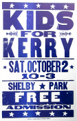 Kids For Kerry 2004 Shelby Park Hatch Show Print