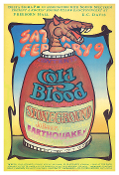 Cold Blood - Stoneground UC Davis Thomas Morris Art Print