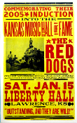 The Red Dogs 2005 Induction Kansas Music Hall Of Fame Hatch Prin