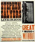 Stephen Salyers 2005 Great Music Without Boundaries Tour