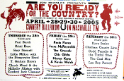 Are You Ready For The Country ? 2005 Hatch Show Print