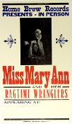 Miss Mary Ann and her Ragtime Wranglers 2003 Hatch Show Print