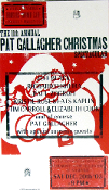 Pat Gallagher Christmas Spectacular 2003 Hatch Show Print