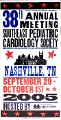 Pediatric Cardiology Society meeting 2005 Hatch Show Print