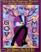 Govt Mule New Earth Mud Orpheum Theater Boston 2003