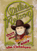 Willie Nelson Catalyst Santa Cruz 2007 R. Tuten
