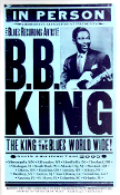 BB King North American Tour 2005 Hatch Show Print
