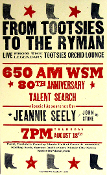 Tootsies To The Ryman 2005 Jeannie Seely Hatch Show Print