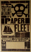 "Paper Fleet 2005 ""Trapped Inside"" Tour blank Hatch Show Print"